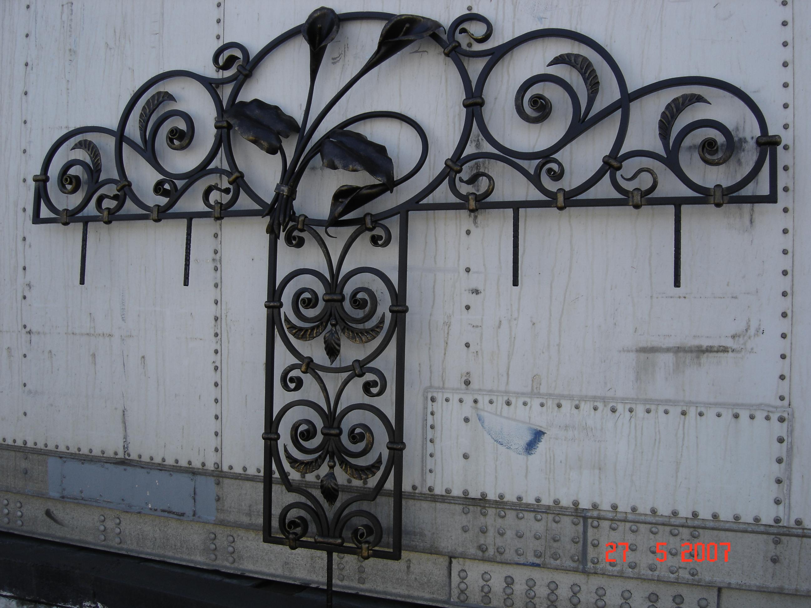 кованая вставка, художественная ковка , Владивосток