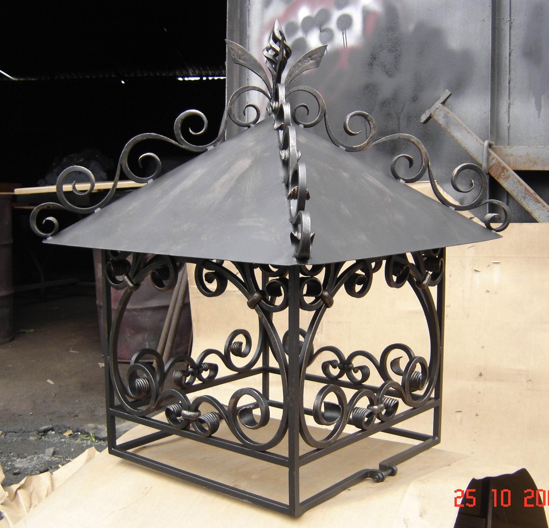 кованый дымник, художественная ковка, Владивосток