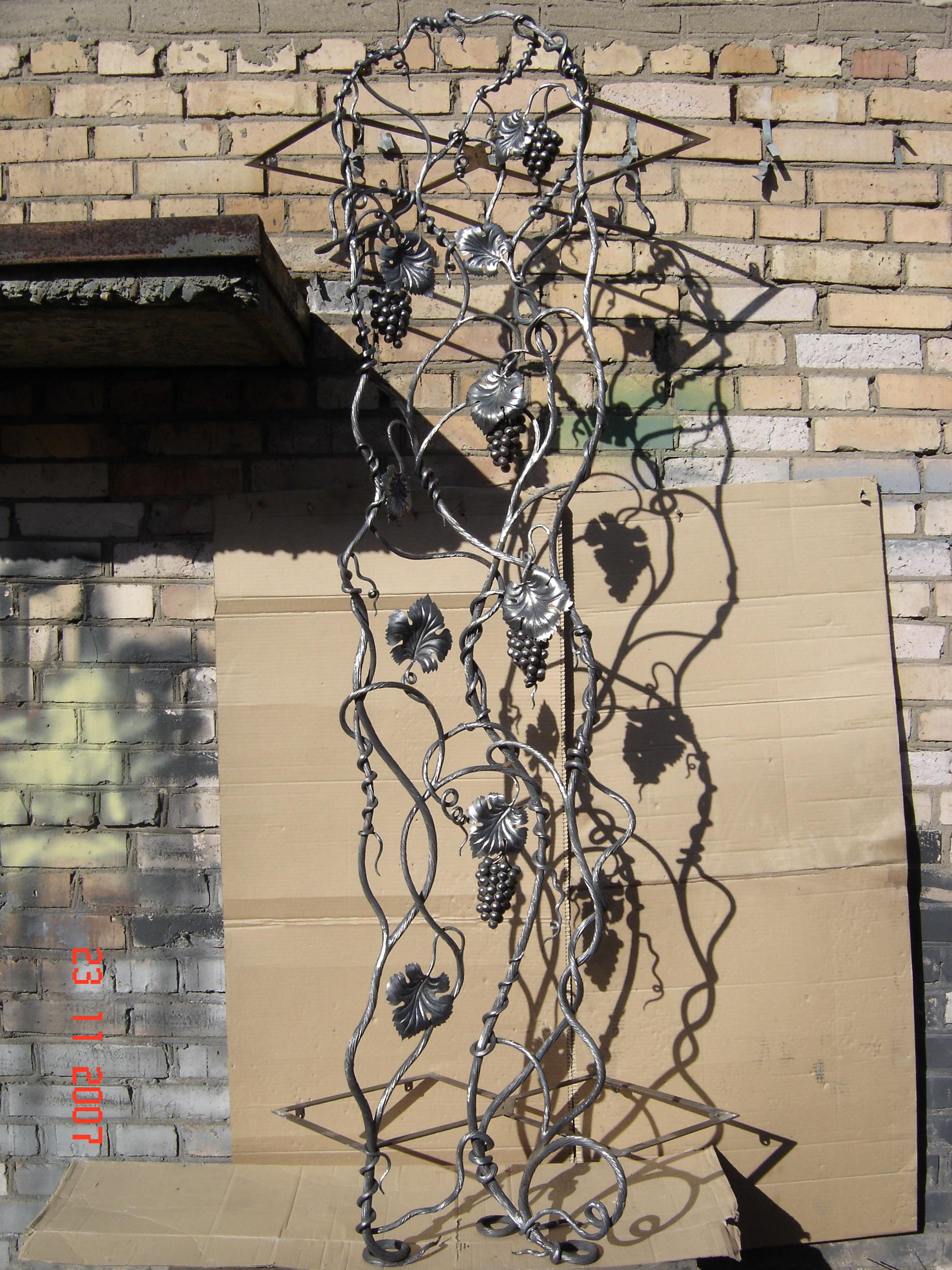 кованая вешалка-ширма, художественная ковка, Владивосток
