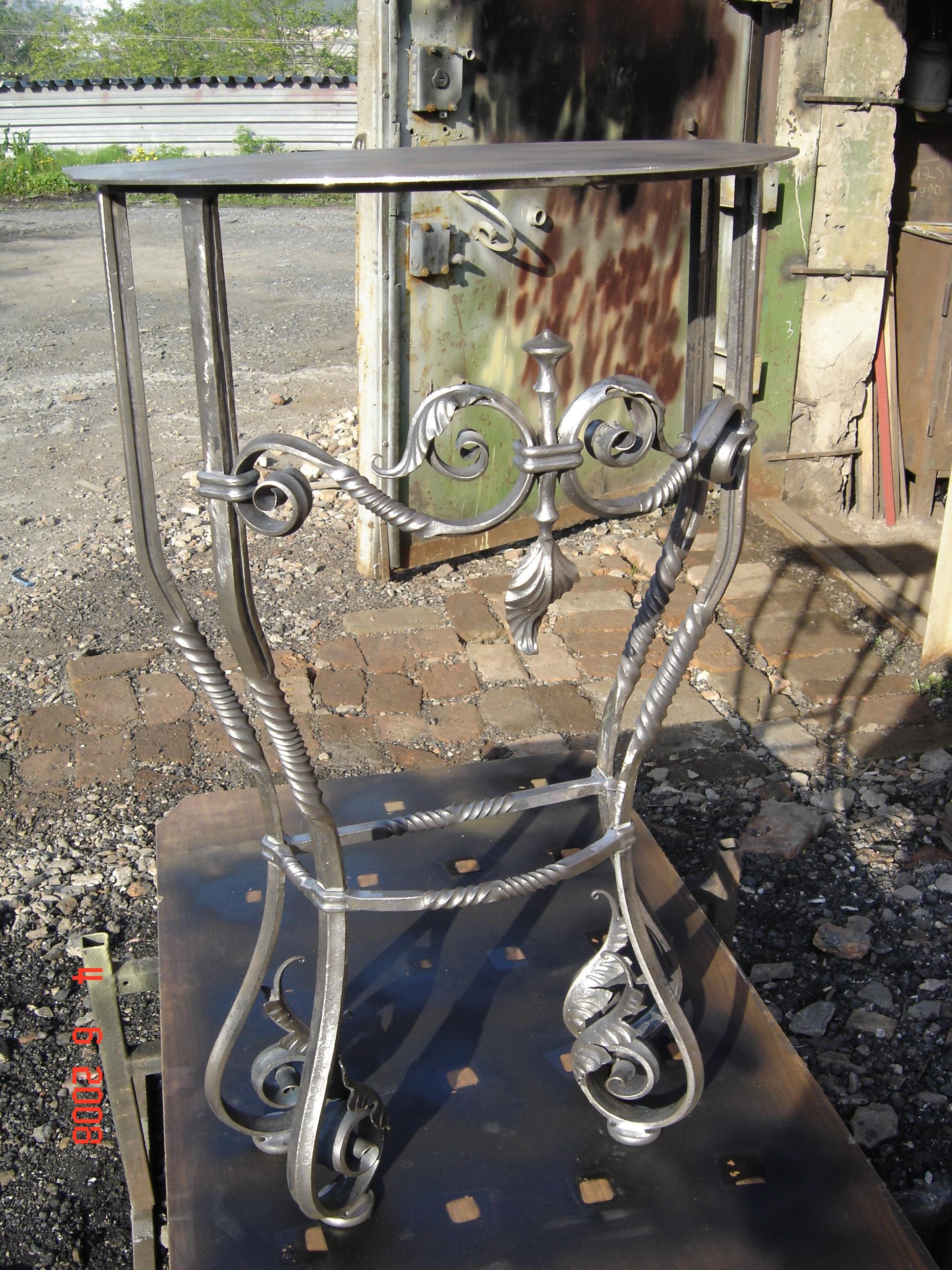 кованый стол, художественная ковка, Владивосток
