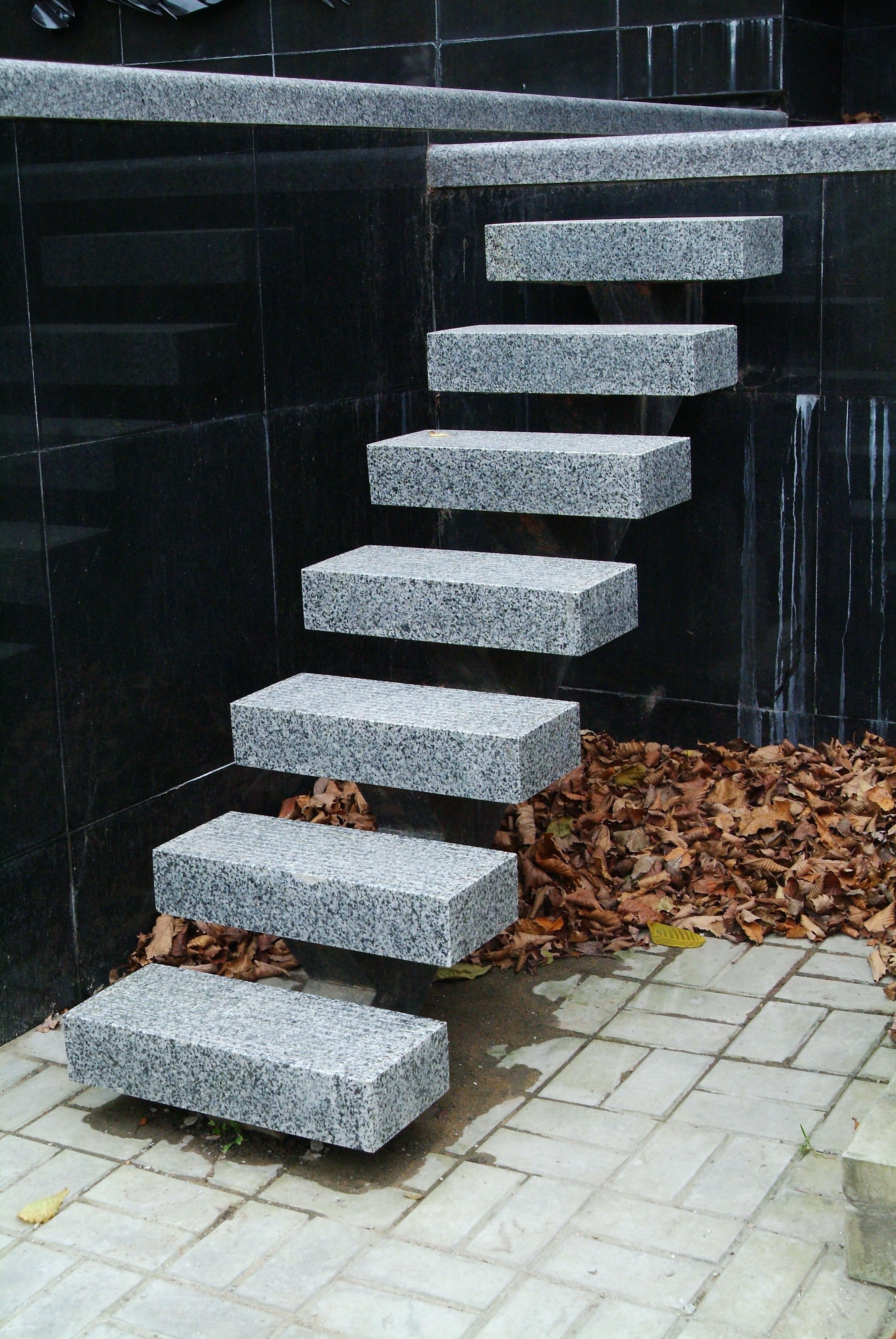 стальная лестница с одним косоуром, Владивосток