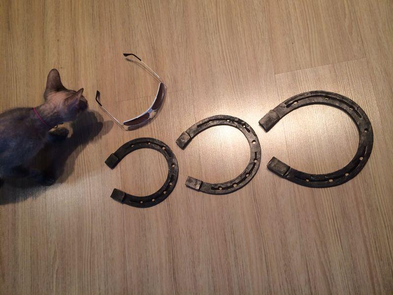 кованый сувенир подкова, художественная ковка владивосток