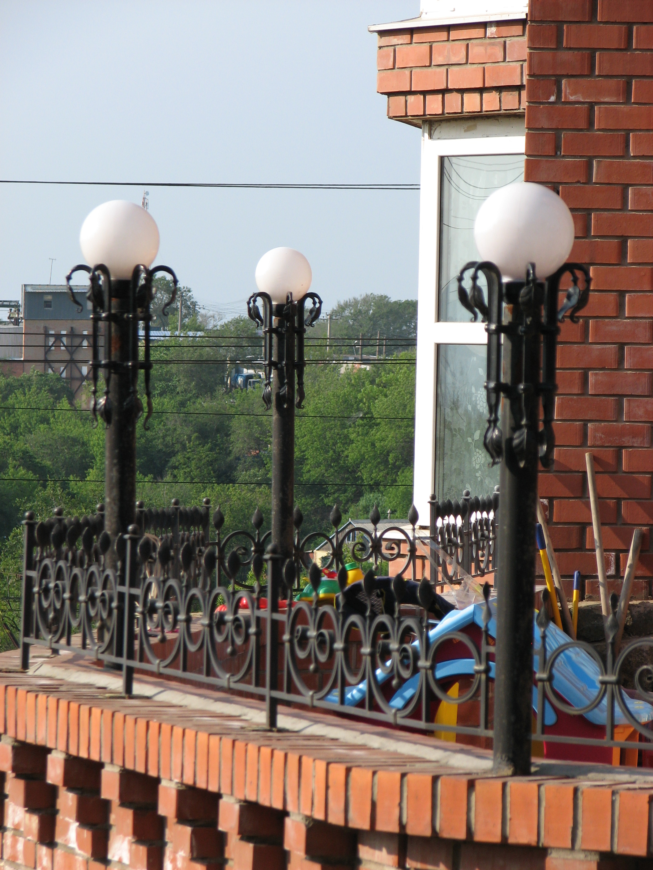 кованые фонари, художественная ковка, Владивосток