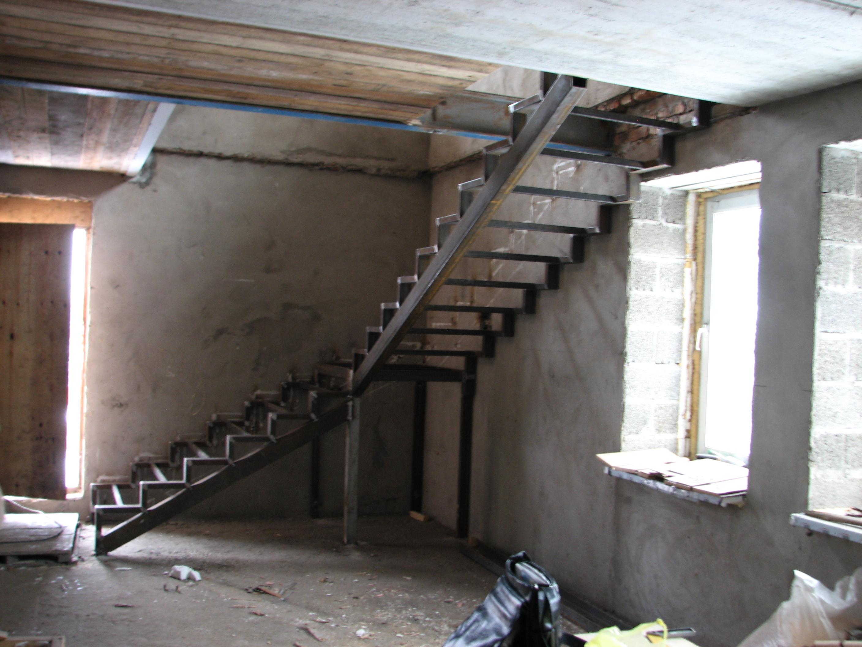 стальная лестница, сварка, Владивосток