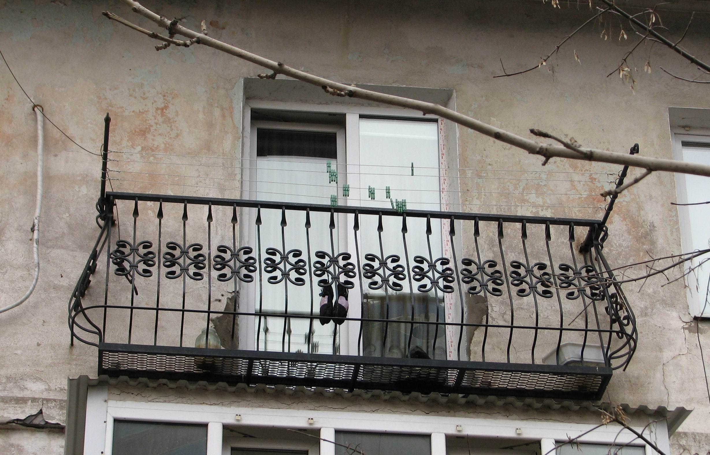 кованый балкон, художественная ковка, Владивосток