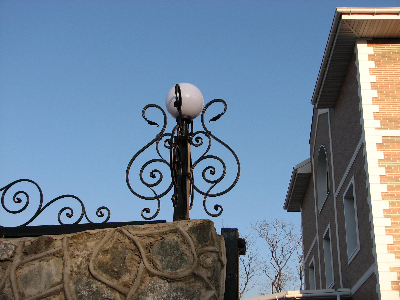 кованый фонарь, художественная ковка , Владивосток