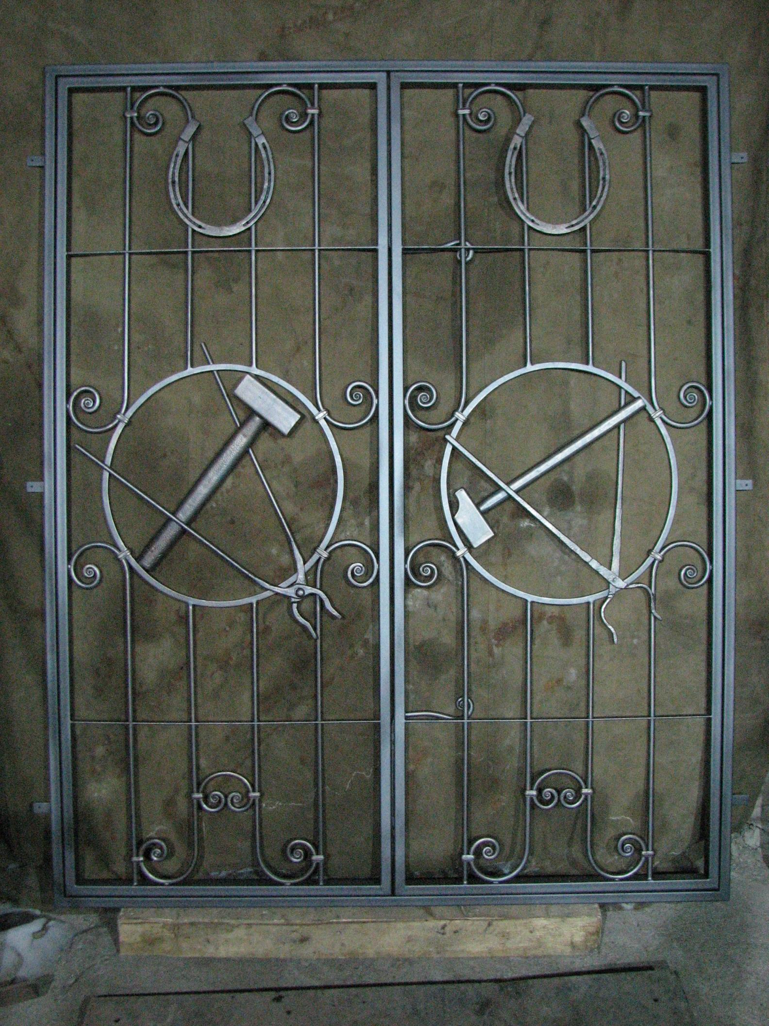 кованые ворота кузни. ковка Владивосток