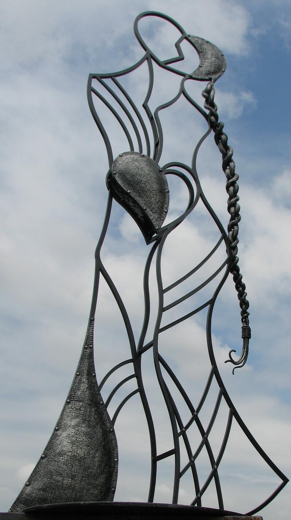 кованая скульптура, ковка Владивосток