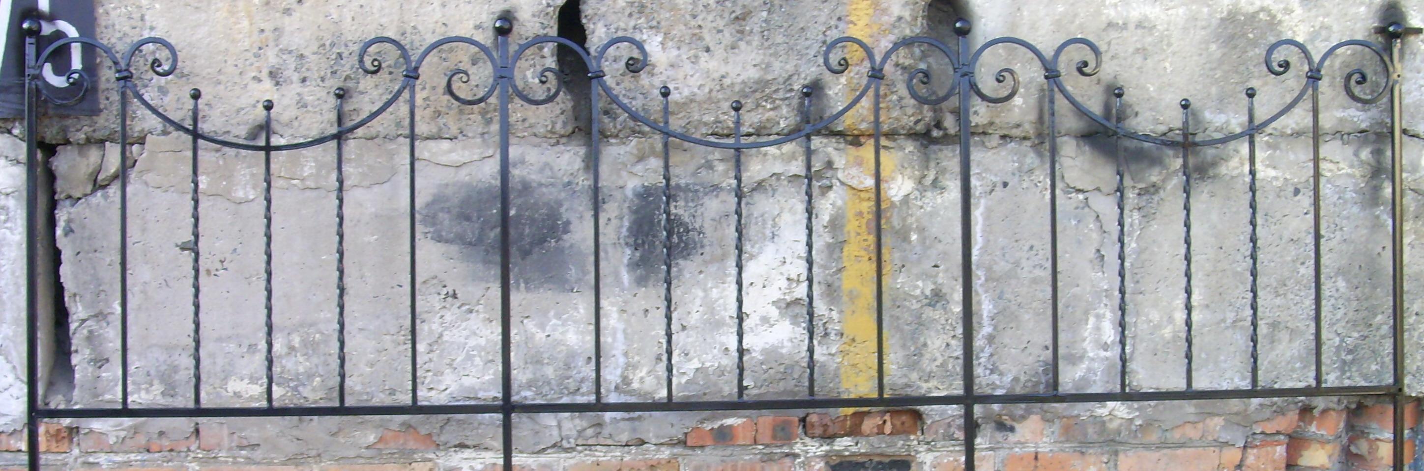 кованая ограда, художественная ковка, Владивосток