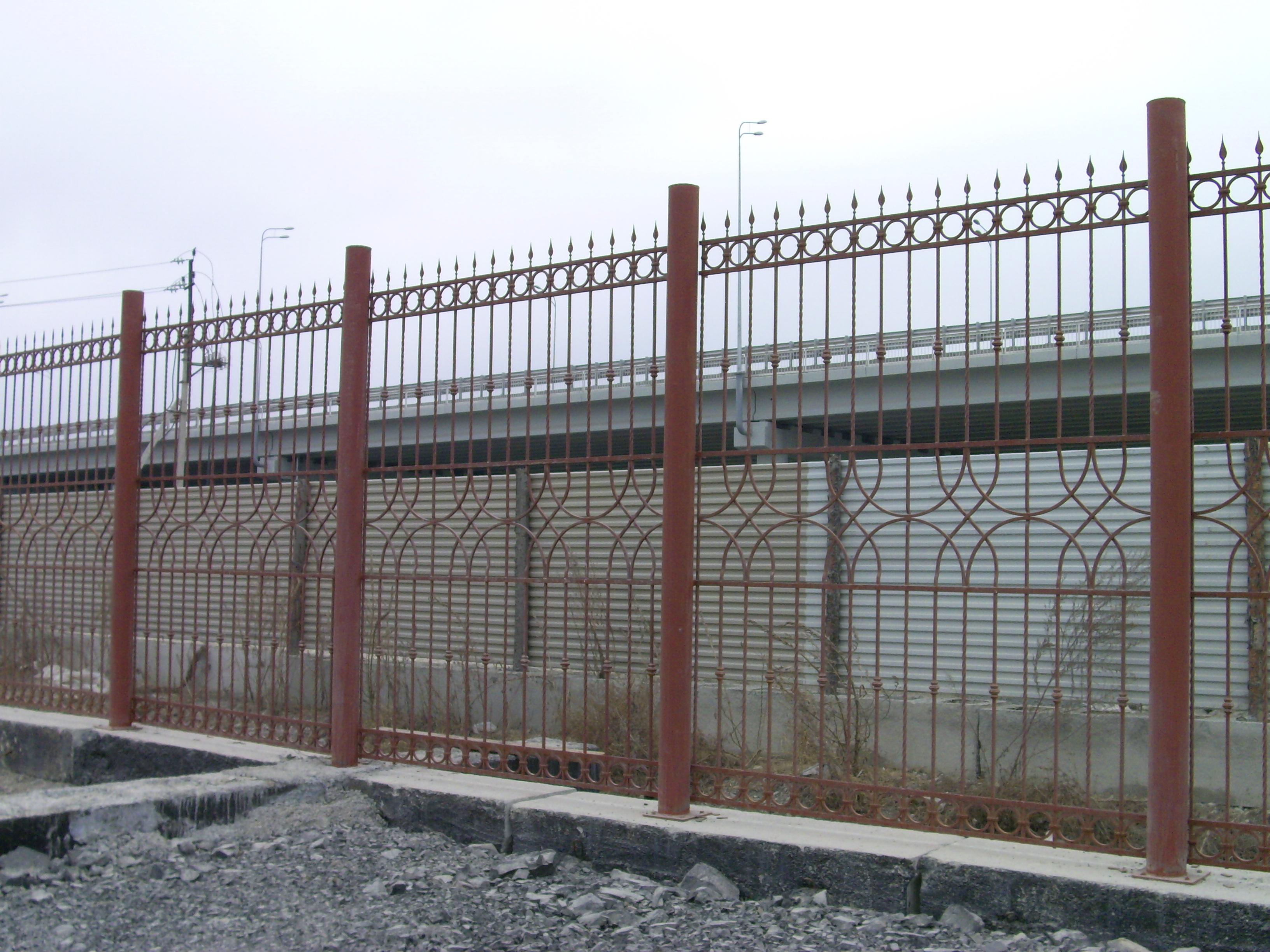 кованый забор, художественная ковка Владивосток, ковка на заказ в Приморском крае, кузнечные работы