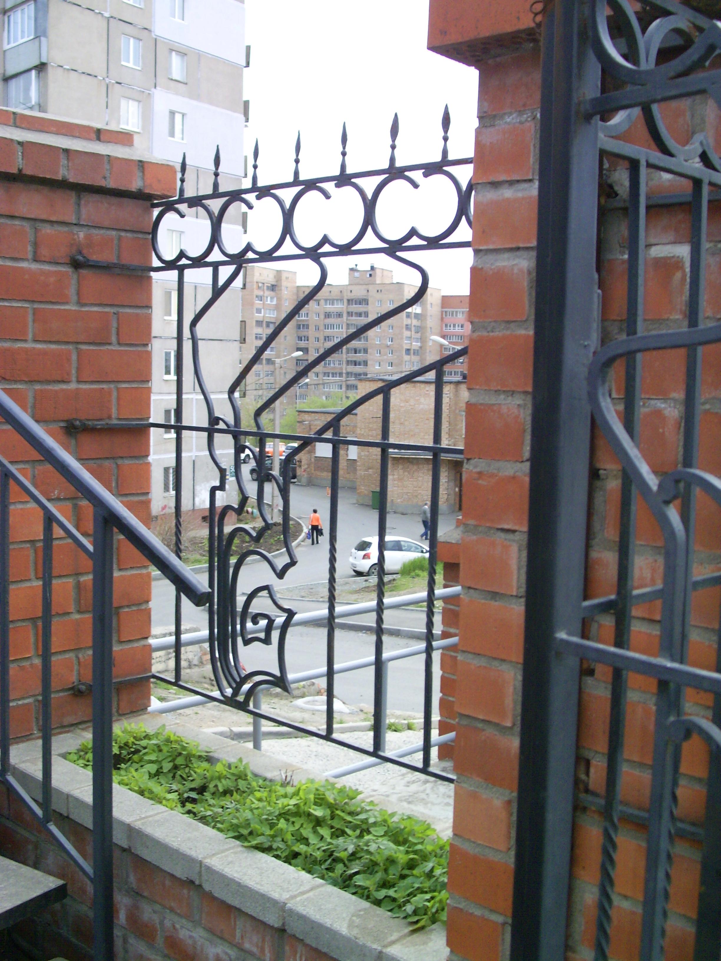 кованый забор, художественная ковка, Владивосток