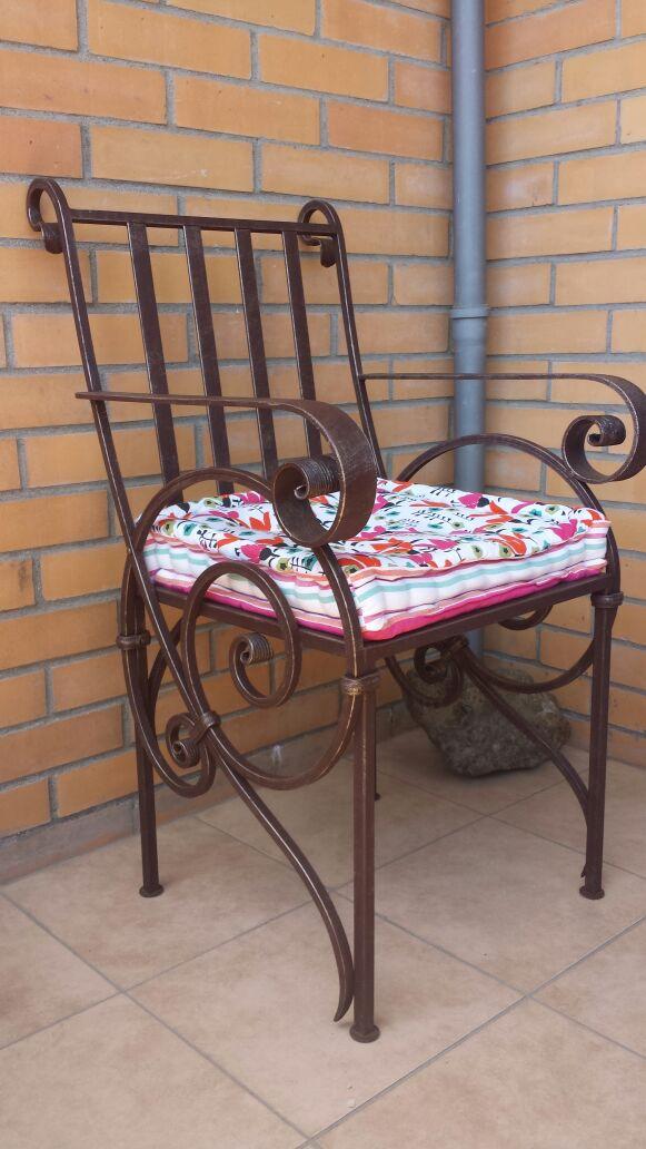 кованое кресло, художественная ковка, Владивосток