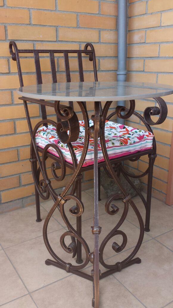 кованый стол и стул, художественная ковка владивосток