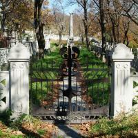 ворота Чешского кладбища, художественная ковка, Владивосток