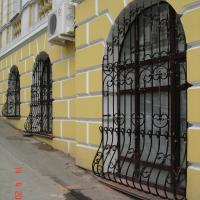 кованые оконные решетки, художественная ковка, Владивосток