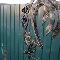 кованый флюгер, художественная ковка, Владивосток